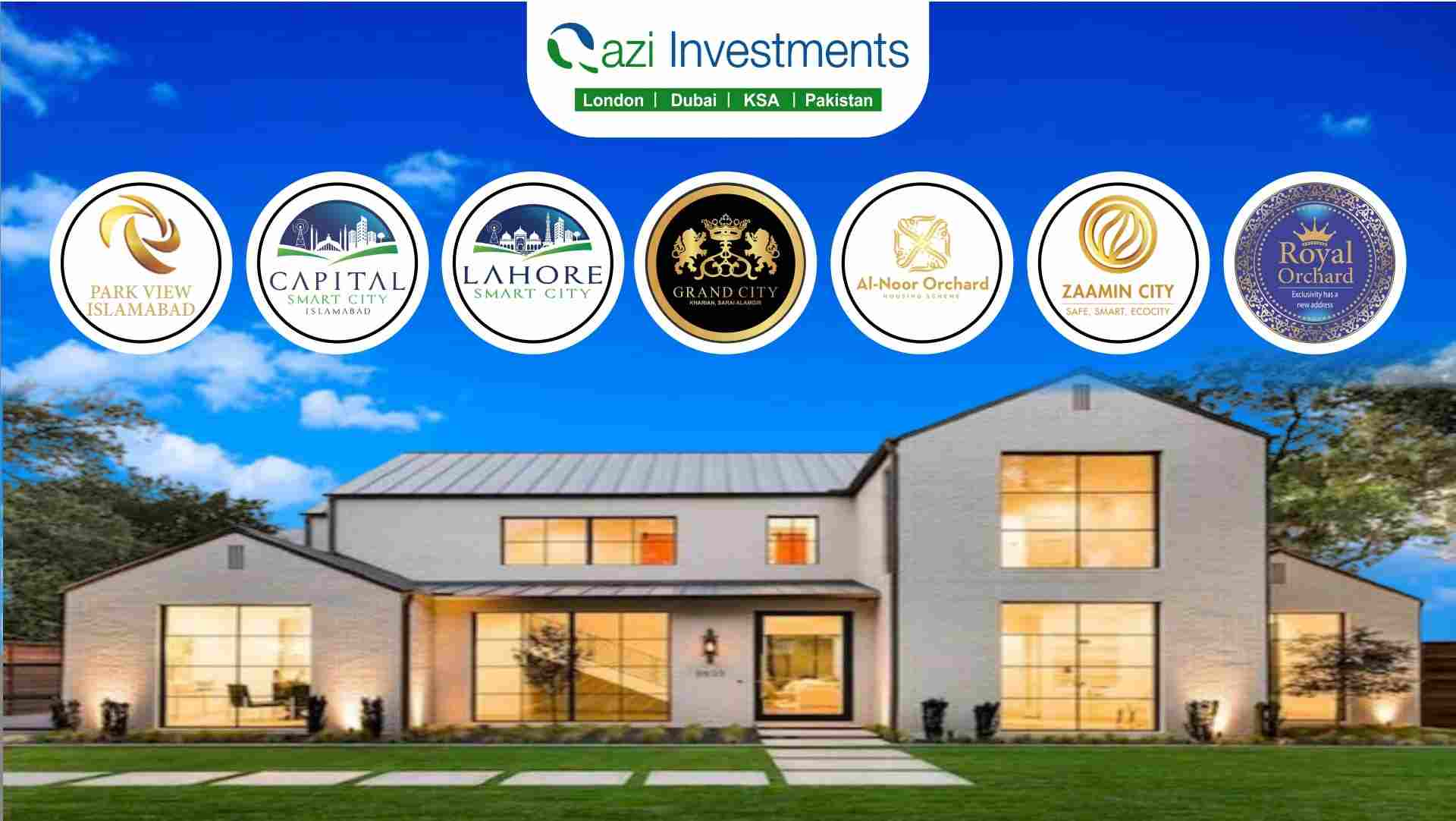 Best Available Real Estate options in Pakistan