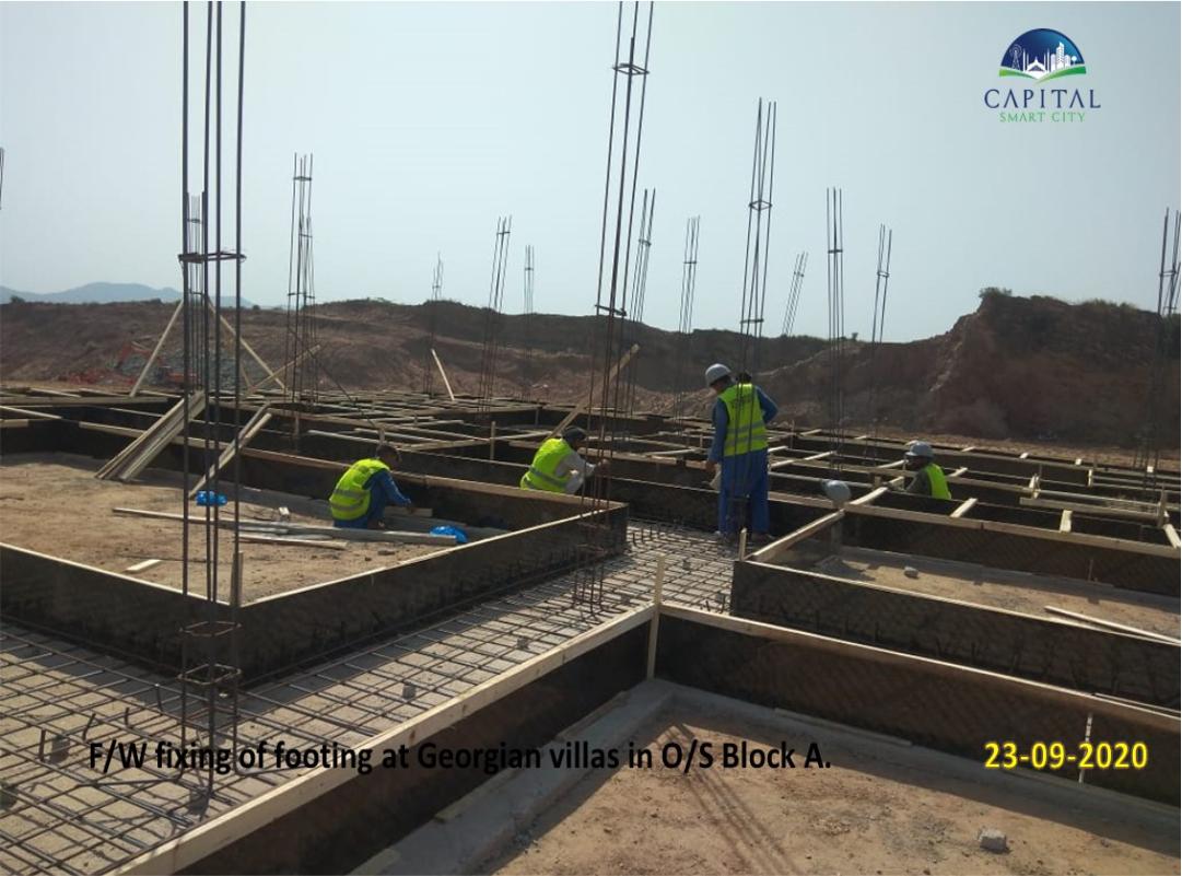 Capital Smart City Development progress 1
