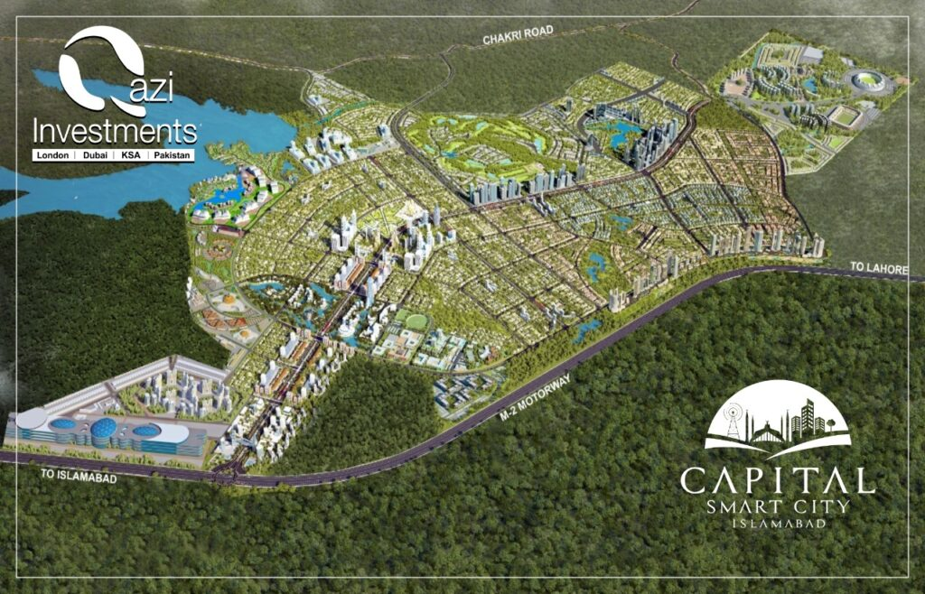 Capital Smart Master map