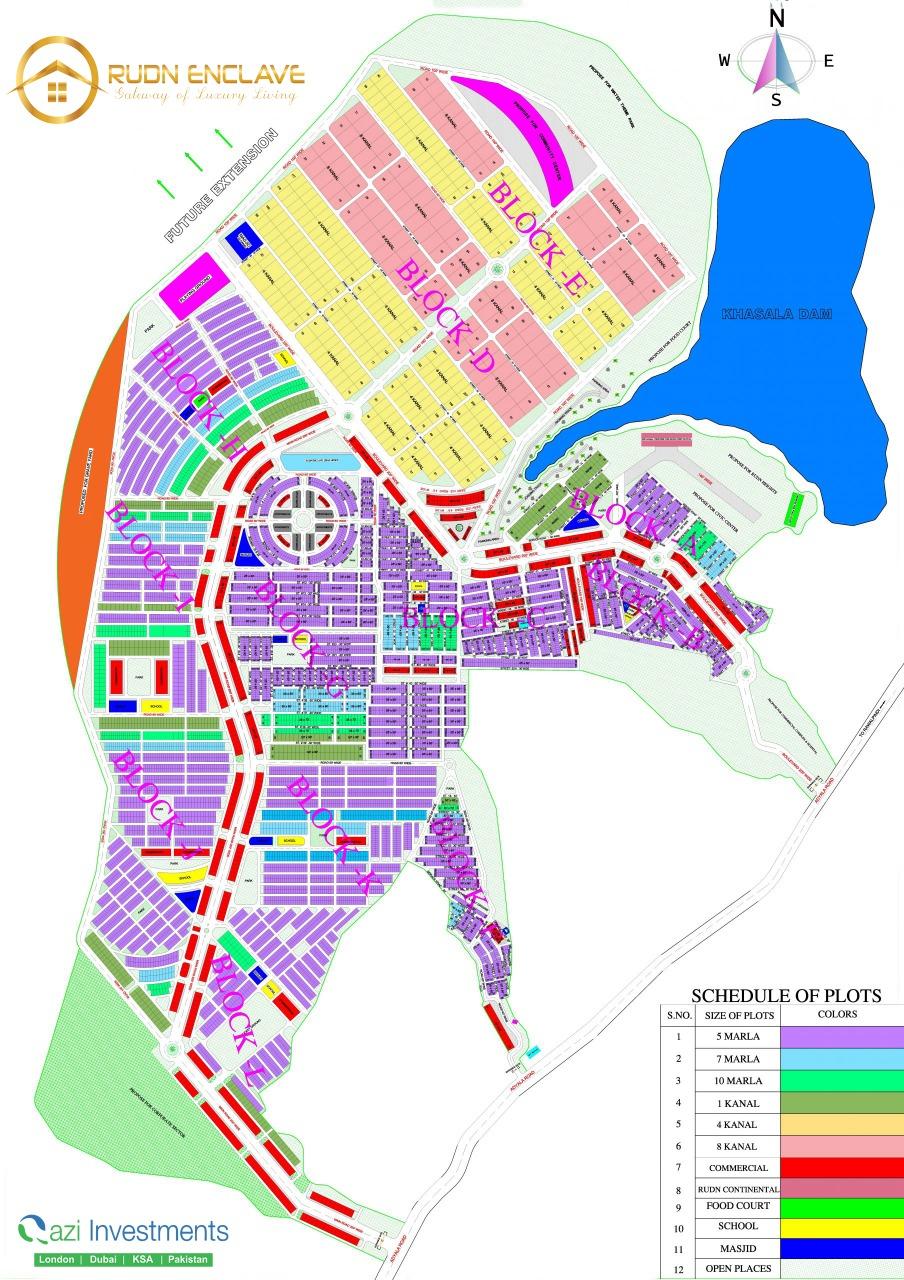 Rudn enclave Master Plan