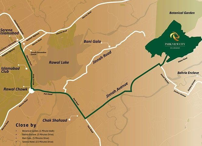 Park-view-city-Map