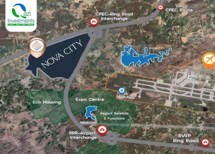 Nova city Master plan & location