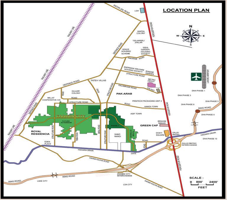 ZAAMIN CITY LOCATION