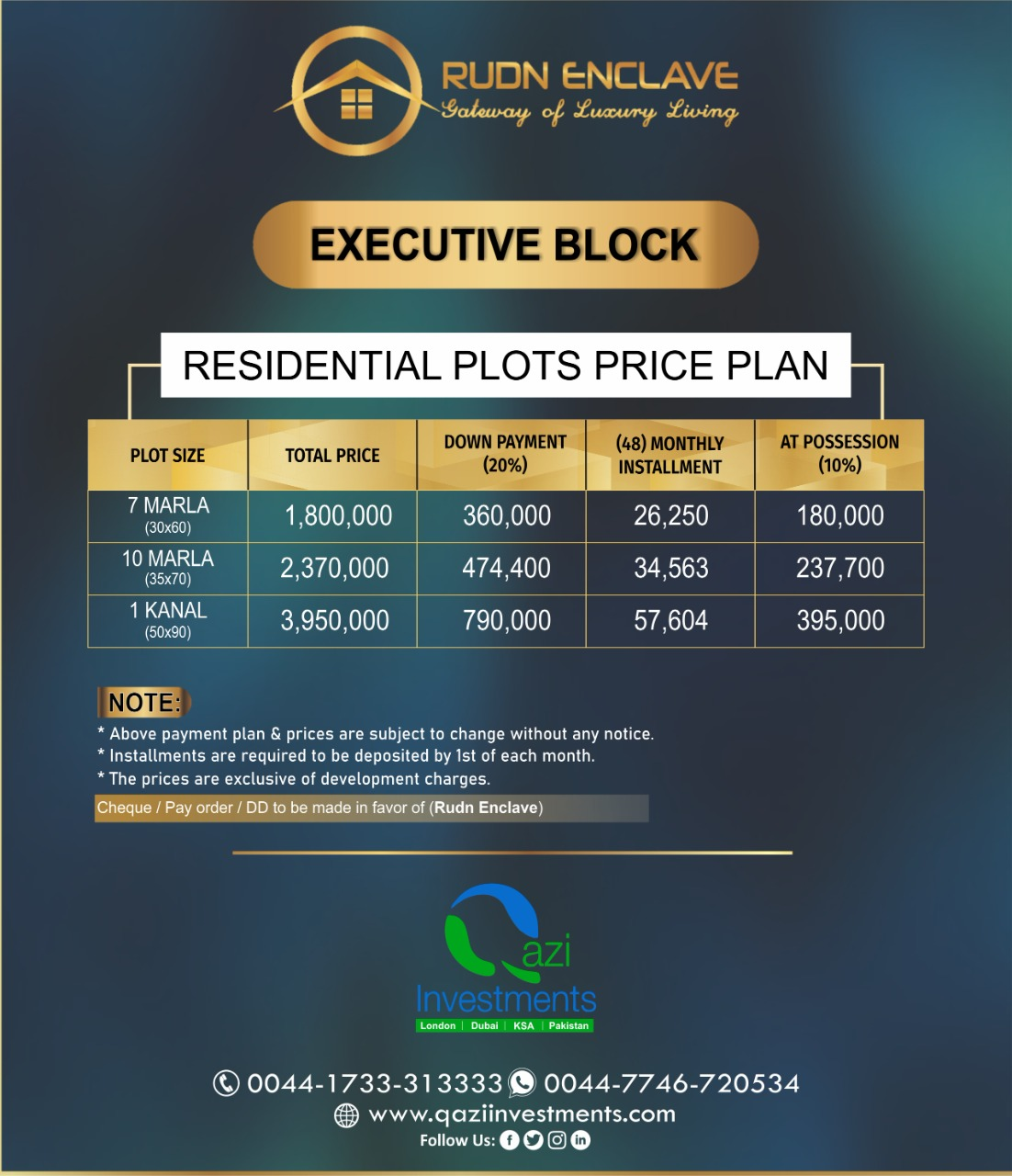 Rudn Payment Plan