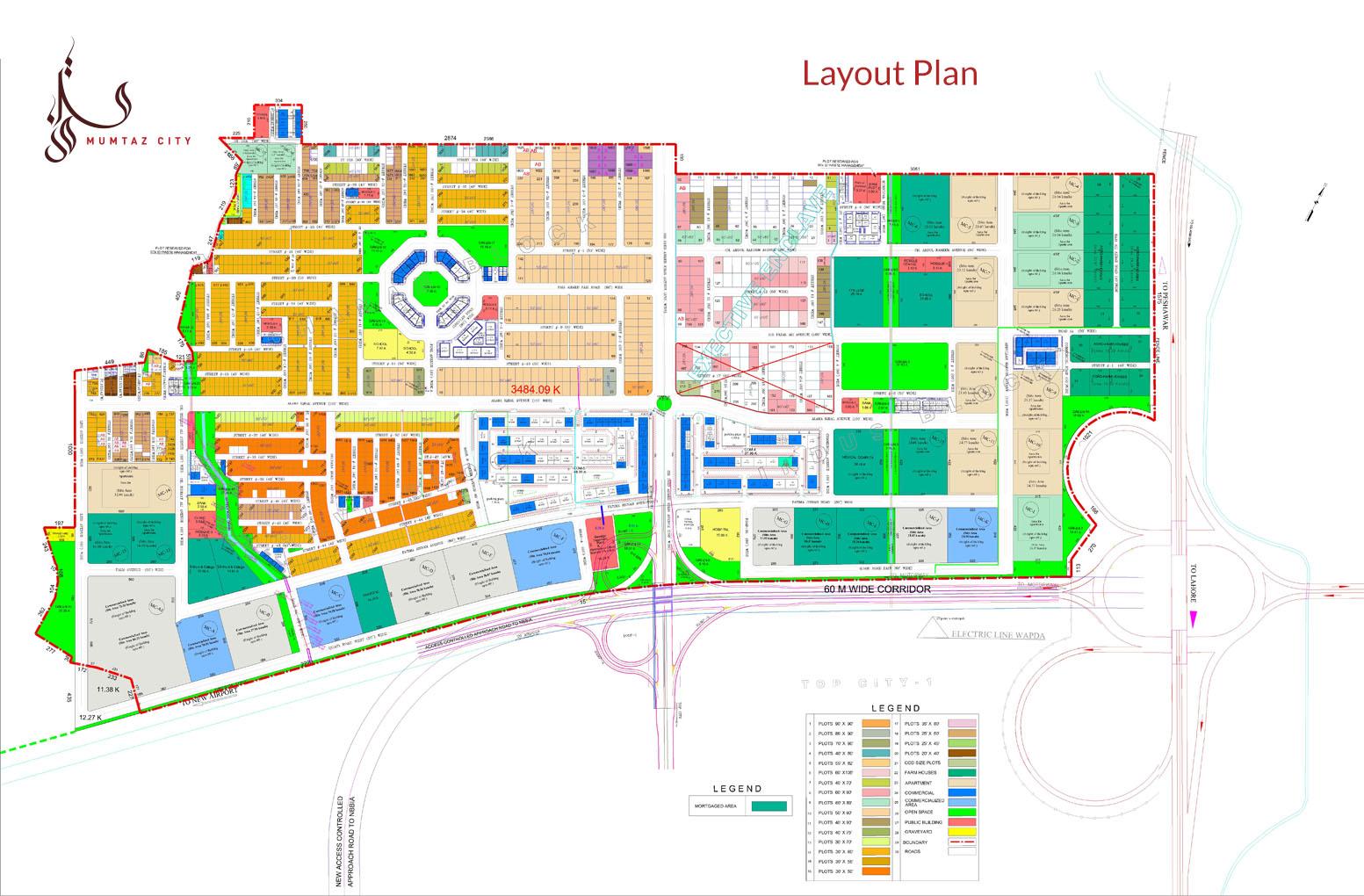 mumtaz city-master-plan