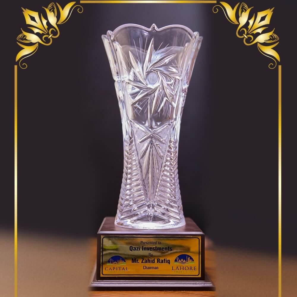Capital Smart City Winning Trophy
